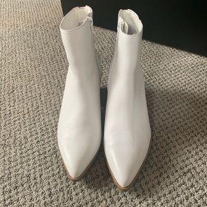 Aldo Shoes - Aldo white booties